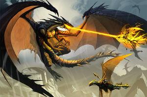 Black dragon attack by el grimlock