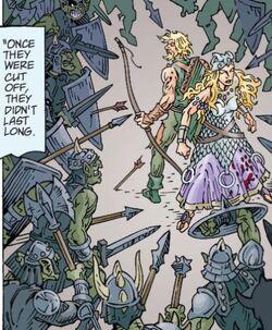 Robin Hood & Britomart Death