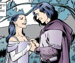 Snow White and Prince Charming Marriage Flashback