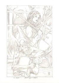 Snow White & Buffkin Buckingham Artwork