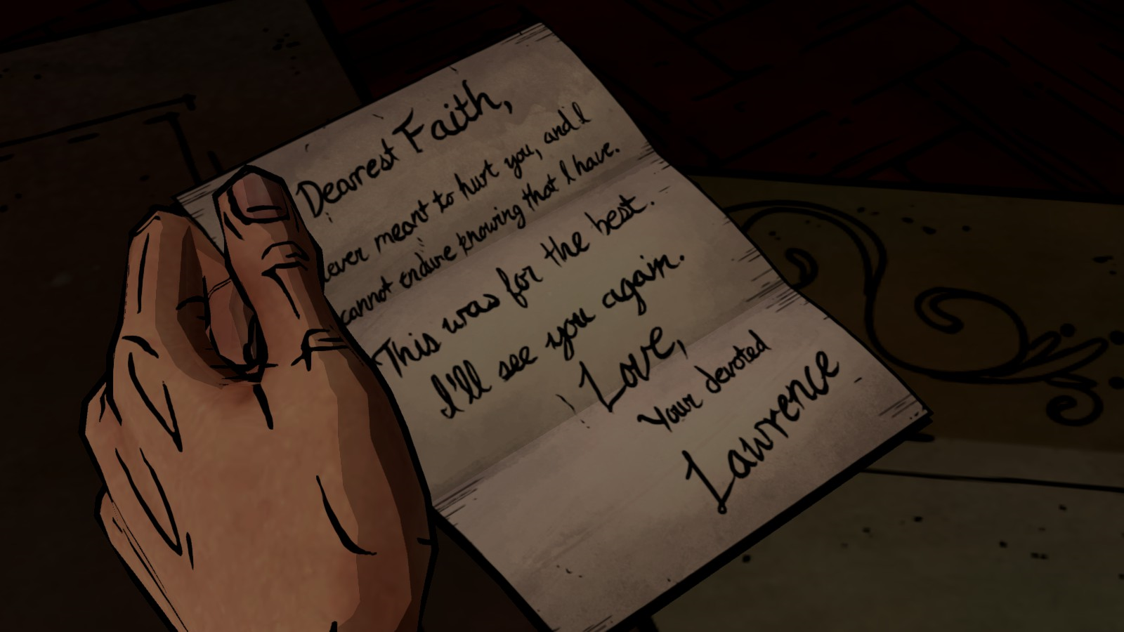 image - fth suicide note | fables wiki | fandom powered by wikia