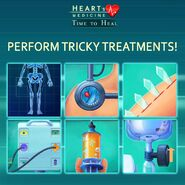 Heart's Medicine Perform Tricky Treatments