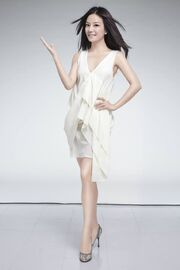 Vicki Zhao Full White Dress