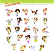 Delicious Stickers Miracle of Life