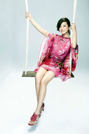 Zhao Wei Flower Dress