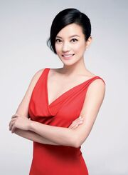 Vicki Zhao Red Dress Fashion