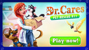 Dr. Cares Pet Rescue 911 Play Now