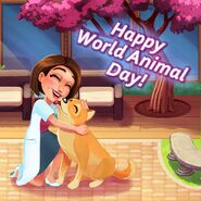 Allison Heart World Animal Day