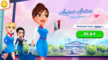 Ambers Airline Main Screen