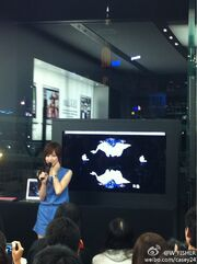 Cyndi Wang Apple Store