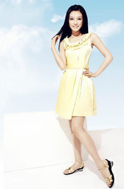 Zhao Wei Yellow Dress Full