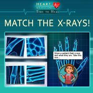 Heart's Medicine X-ray match