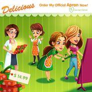Delicious Emily Apron Order Now