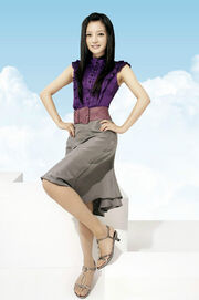 Zhao Wei Purple Fashion