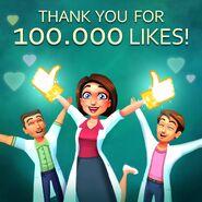 Allison Heart 100,000 Likes