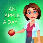Allison Heart Apple