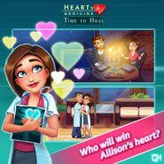 Who will win Allison's heart