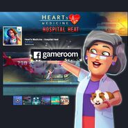 Heart's Medicine Hospital Heat Facebook Gameroom