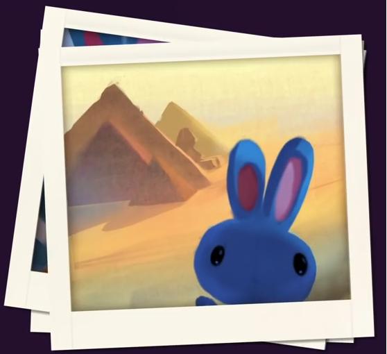 Зайка и Египетские пирамиды