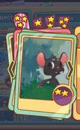Чёрный мышонок, среднее качество