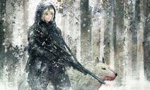43662 anime girls sniper girl