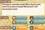 Waterfall dragon info