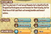 Earth dragon info