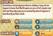 Mud dragon info