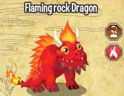 Flaming rock dragon lv4-6