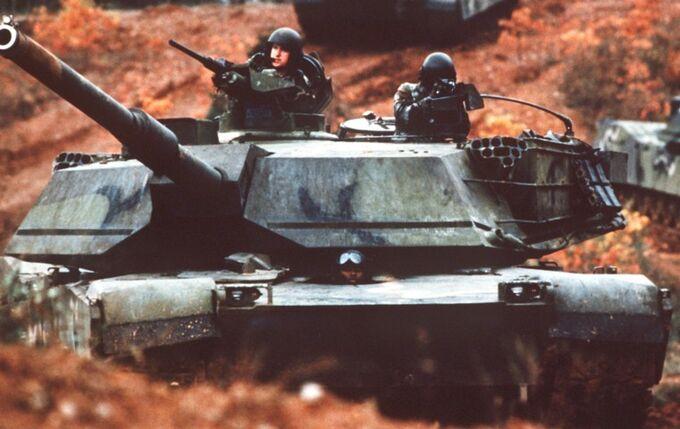 M1 Abrams MERDC