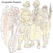 000 Jovepenian troopers