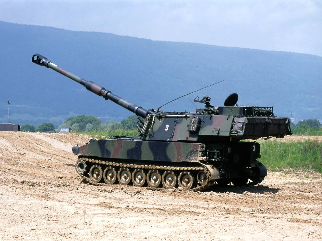 M109a9 Paladin Self Propelled Artillery Facebook Nations