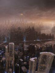 Futuristic-city-skyline-by-razer-1-