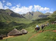 Lesotho-countryside