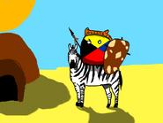 Zulu Kingdom's zebra cavalry (YogiTheWise)