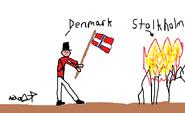 Denmark-Norway burning Stockholm (Quandilotor)
