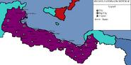 Map of Second Zaubibaum Republic Turn 19 (kamikaze470)