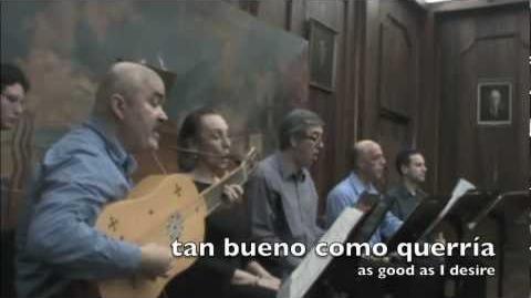 "Luys Milán (1536) ""Agora viniesse un viento"" Garçimuñoz-(Cartago-CR)"
