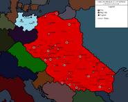 Map of Bohemian Empire and Lugii Turn 19 (Damian0358)