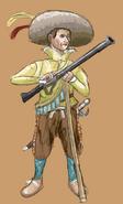 Spanish soldier (Daniel Smith)
