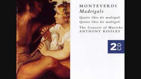 Monteverdi Madrigal Ah dolente partita!