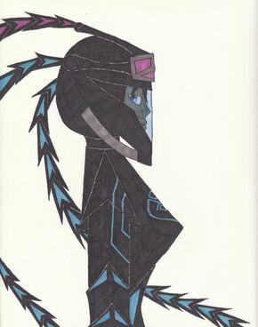 Dark Samus Annihilator (face)
