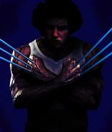 Wolverine hugh jackman Rocker Phazon 1 layer styled phazon claws