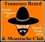 Tennessee Beard and Moustache Club Logo