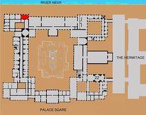 Malachite Room location