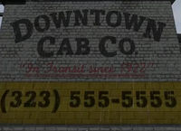 Downtown Cab