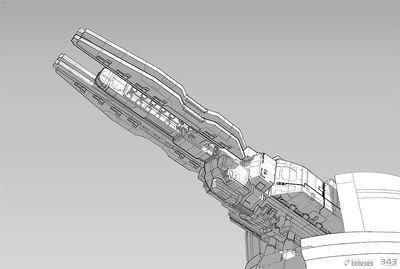 Halo 4 dlc planetary rail gun concept by sbigham-d6sm0gl