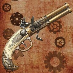 Pistols black-powder-revolver 1522