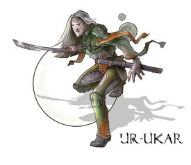 Ukar warrior by enkidi