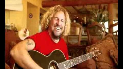 Sammy Hagar - Give To Live - Live Solo Acoustic - Van Halen - Right Here, Right Now